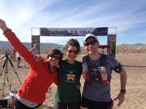 With Katie and Erin at the finish line. We had a blast on this trip!