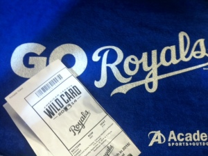 Royals playoff tickets were available for the first time since 1985.