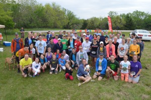 Lots of good people made it a fun morning to run!