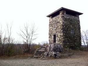 Wright's Tower at the Middlesex Fells.